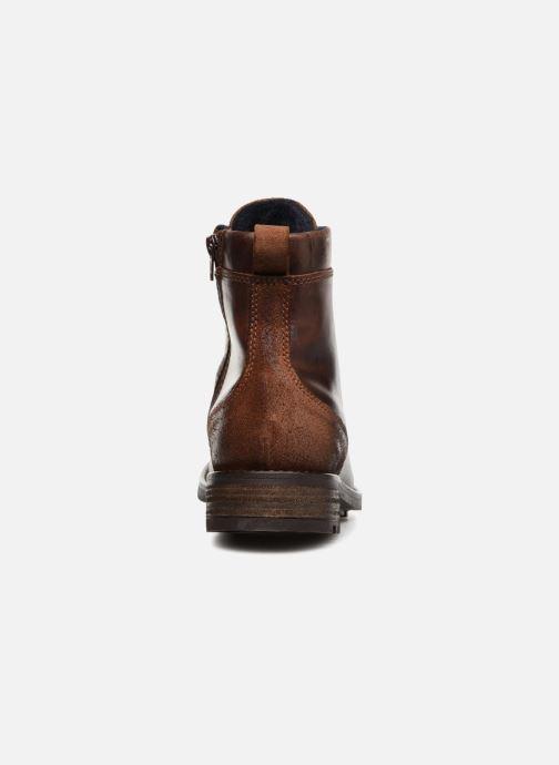 Bottines et boots Mustang shoes Jil Marron vue droite