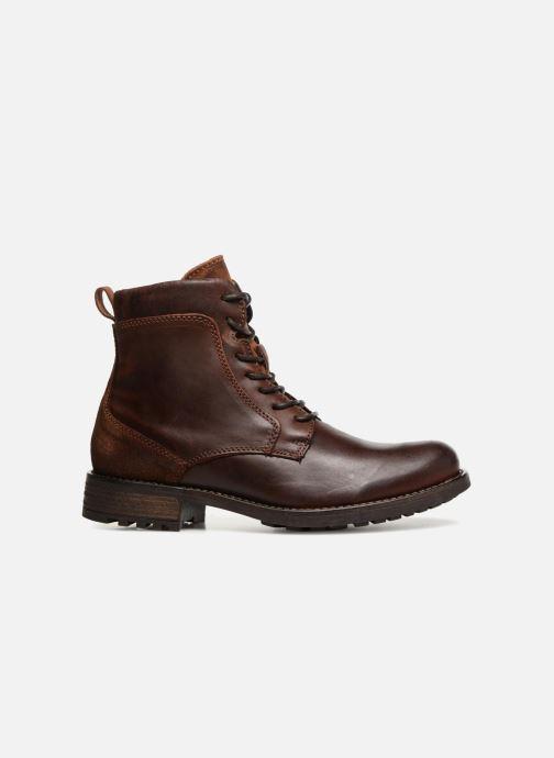 Bottines et boots Mustang shoes Jil Marron vue derrière