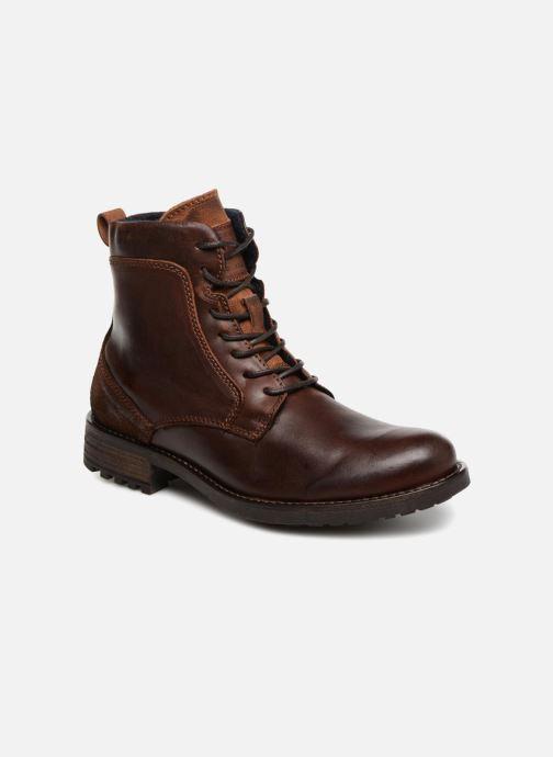 Bottines et boots Mustang shoes Jil Marron vue détail/paire