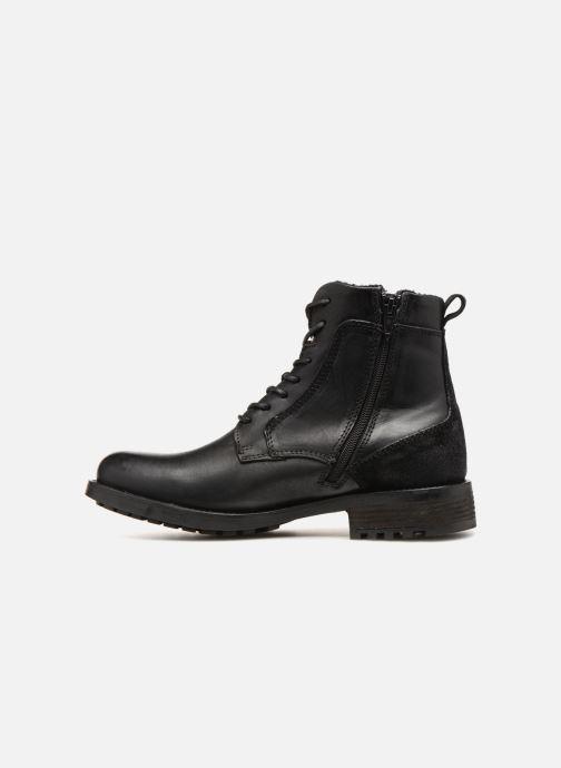Bottines et boots Mustang shoes Jil Noir vue face