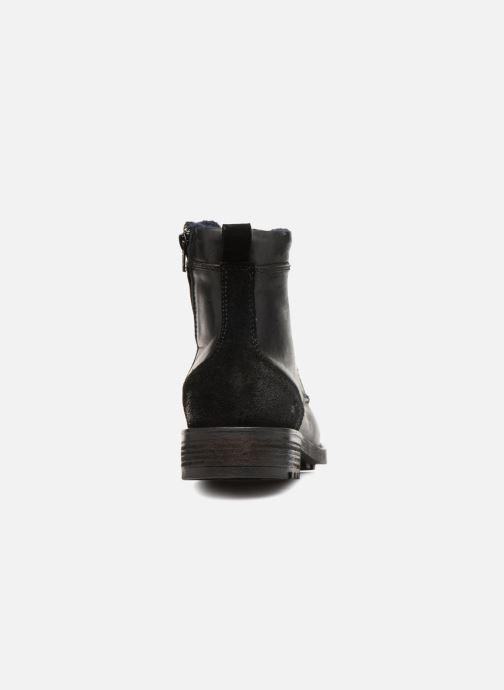 Bottines et boots Mustang shoes Jil Noir vue droite