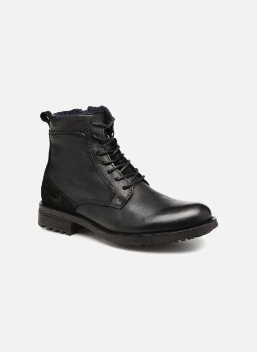 Bottines et boots Mustang shoes Jil Noir vue détail/paire