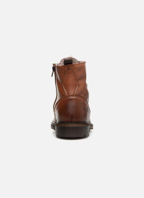 Stivaletti e tronchetti Mustang shoes Joan Marrone immagine destra