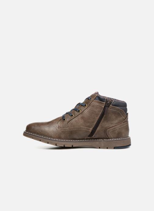 Bottines et boots Mustang shoes Mike Marron vue face