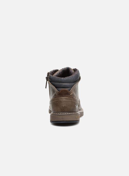 Bottines et boots Mustang shoes Mike Marron vue droite