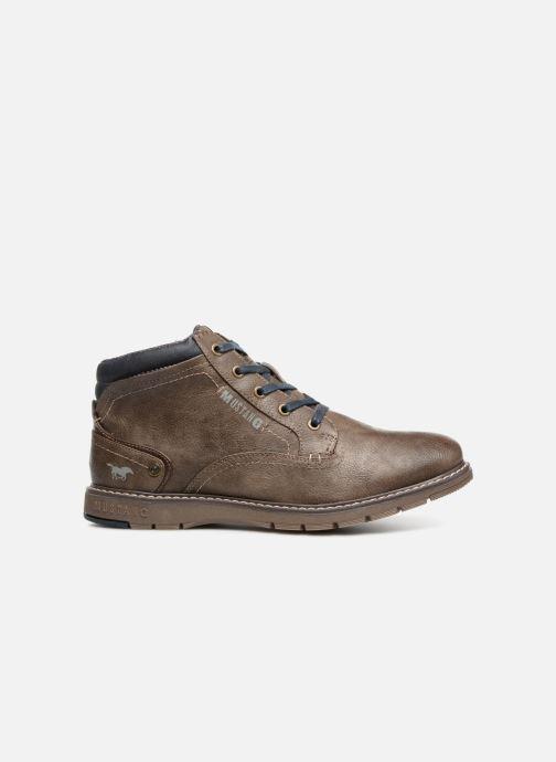 Bottines et boots Mustang shoes Mike Marron vue derrière