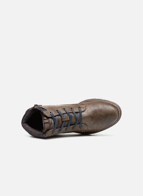 Bottines et boots Mustang shoes Mike Marron vue gauche