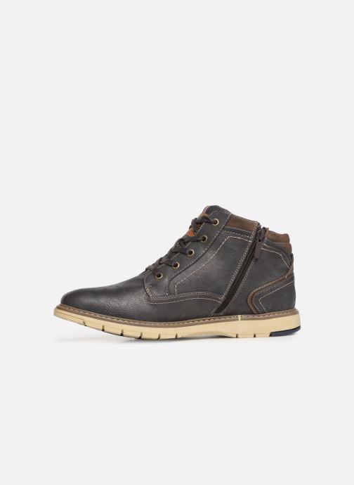 Bottines et boots Mustang shoes Mike Gris vue face