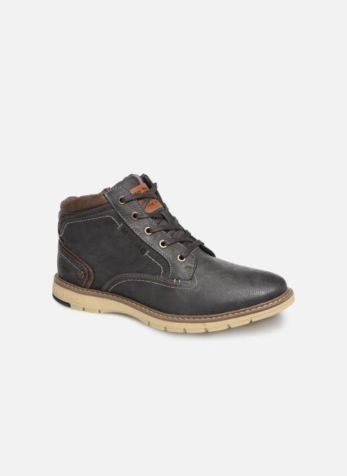 Bottines et boots Mustang shoes Mike Gris vue détail/paire