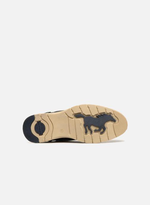 Stivaletti e tronchetti Mustang shoes Mike Azzurro immagine dall'alto