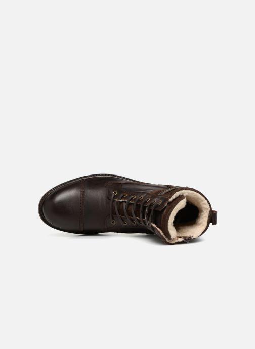 Stivaletti e tronchetti Mustang shoes Moe Marrone immagine sinistra