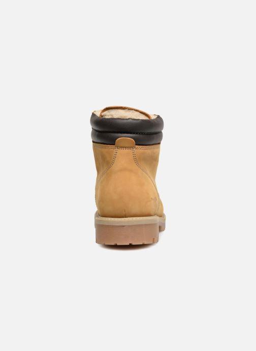 Stivaletti e tronchetti Mustang shoes Lic Marrone immagine destra