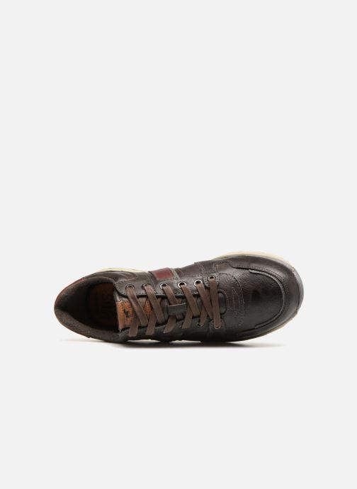 Baskets Mustang shoes Soo Marron vue gauche