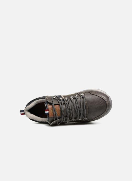Sneaker Mustang shoes Sven grau ansicht von hinten