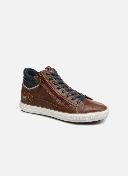 Sneaker Mustang shoes Garett braun detaillierte ansicht/modell