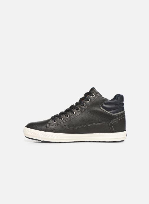 Baskets Mustang shoes Garett Noir vue face
