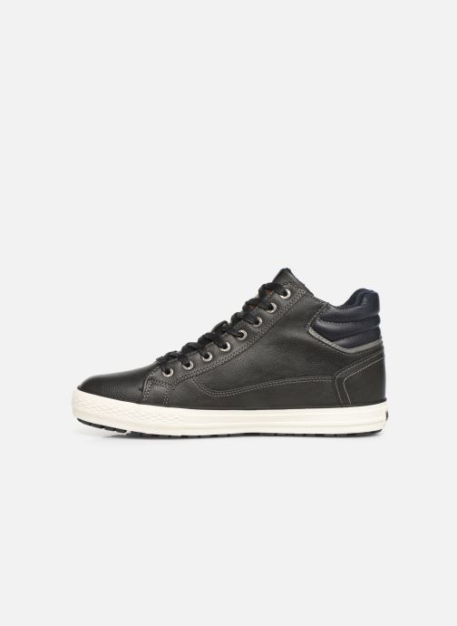 Baskets Mustang shoes Garett Noir vue face