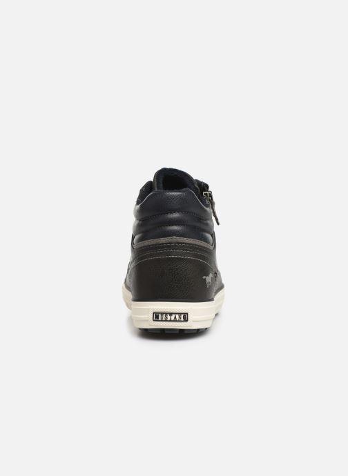 Baskets Mustang shoes Garett Noir vue droite