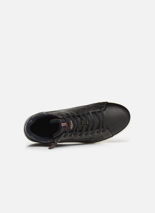 Baskets Mustang shoes Garett Noir vue gauche