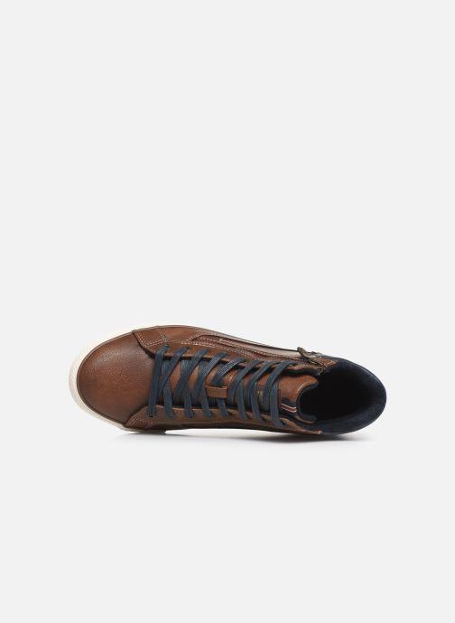 Baskets Mustang shoes Garett Marron vue gauche