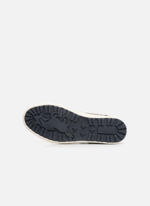 Baskets Mustang shoes Garett Marron vue haut