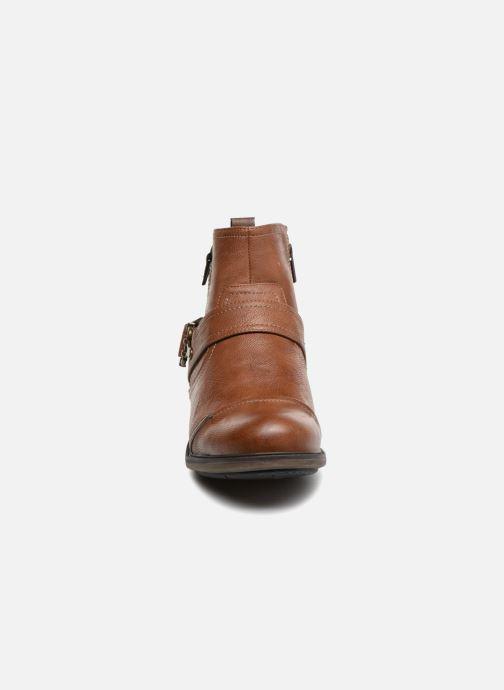 Stiefeletten & Boots Mustang shoes Hugo braun schuhe getragen