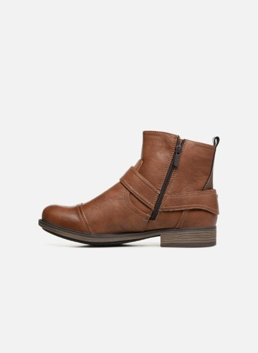 Stiefeletten & Boots Mustang shoes Hugo braun ansicht von vorne