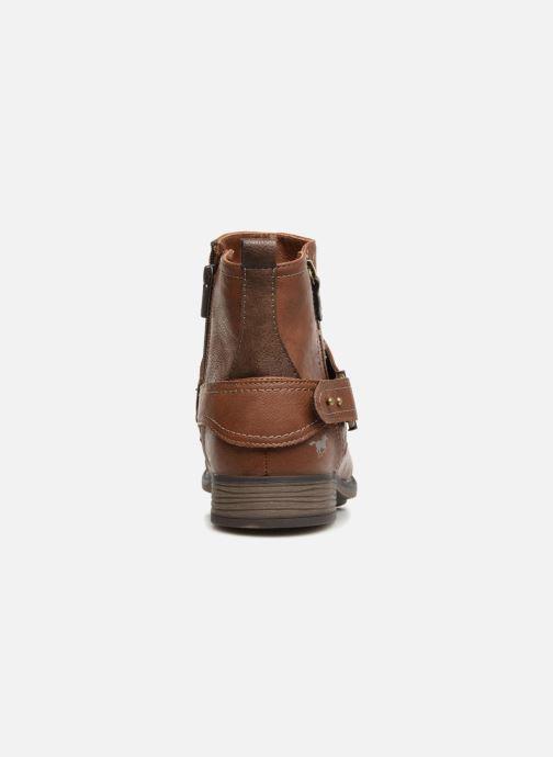 Stiefeletten & Boots Mustang shoes Hugo braun ansicht von rechts