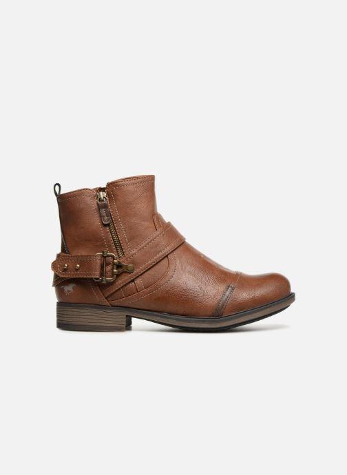 Stiefeletten & Boots Mustang shoes Hugo braun ansicht von hinten