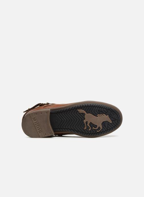 Stiefeletten & Boots Mustang shoes Hugo braun ansicht von oben
