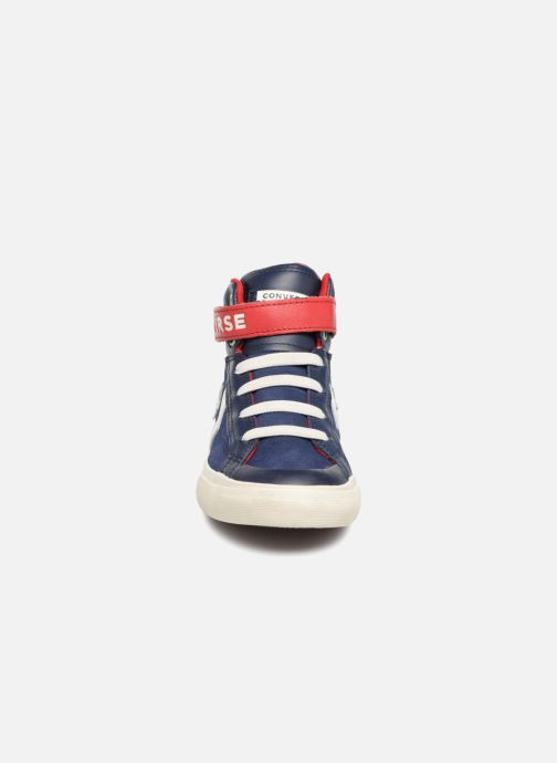 Sneakers Converse Pro Blaze Strap Hi Suede/Leather Blauw model