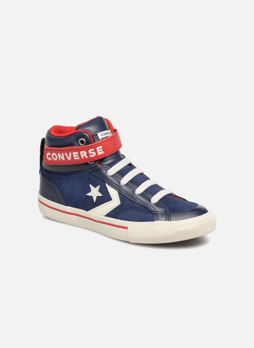 Sneakers Converse Pro Blaze Strap Hi Suede/Leather Blauw detail