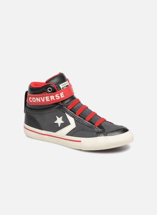 Sneaker Converse Pro Blaze Strap Hi Suede/Leather schwarz detaillierte ansicht/modell