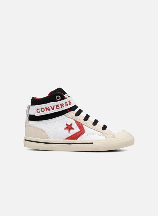 Sneaker Converse Pro Blaze Strap Hi Leather/Suede weiß ansicht von hinten