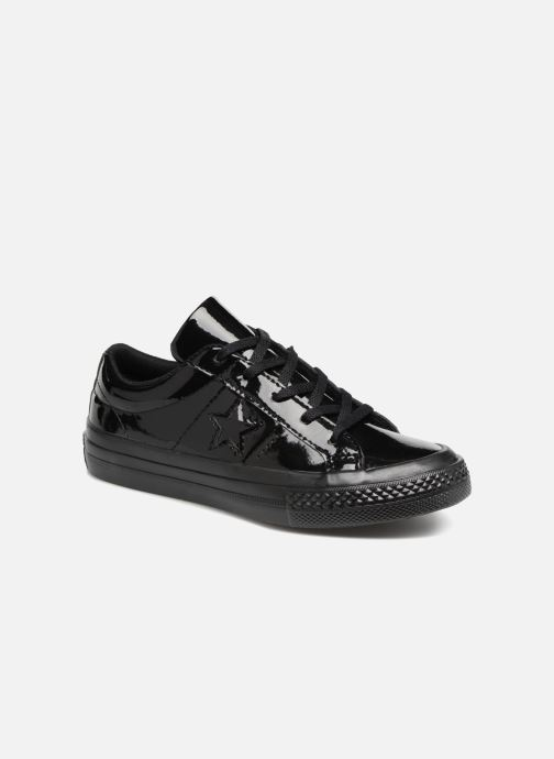 Trainers Converse One Star Ox Patented 90's Black detailed view/ Pair view