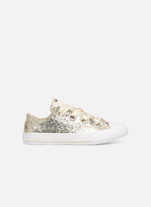 Baskets Converse Chuck Taylor All Star Big Eyelets Ox Party Dress Or et bronze vue derrière