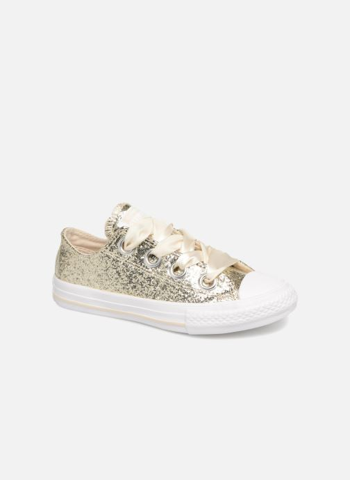 Baskets Converse Chuck Taylor All Star Big Eyelets Ox Party Dress Or et bronze vue détail/paire