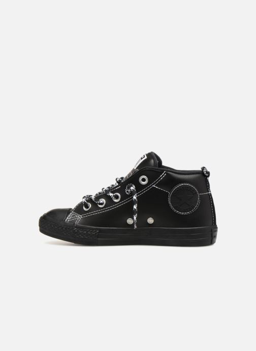 Sneakers Converse Chuck Taylor All Star Street Mid Street Hiker Zwart voorkant