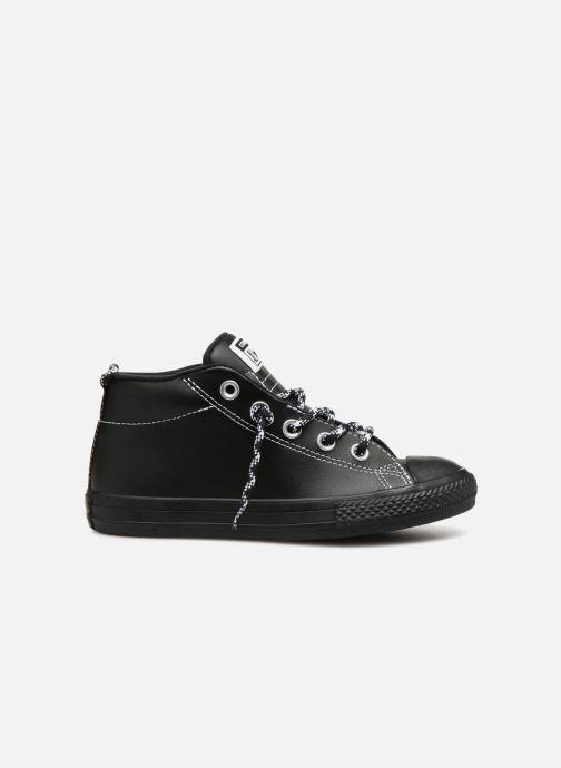 Sneakers Converse Chuck Taylor All Star Street Mid Street Hiker Zwart achterkant