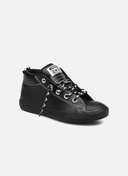 Sneakers Converse Chuck Taylor All Star Street Mid Street Hiker Zwart detail