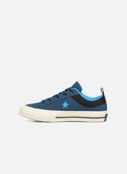 Sneakers Converse One Star Ox Sierra Blauw voorkant
