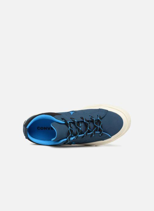 Sneakers Converse One Star Ox Sierra Blauw links