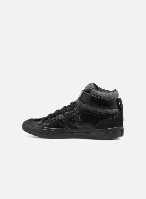 Sneakers Converse Pro Blaze Strap Hi Fall Mash-Up Zwart voorkant