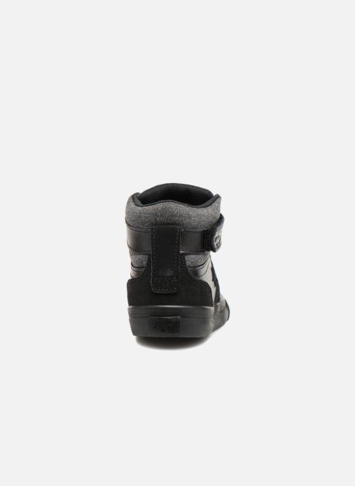 Sneakers Converse Pro Blaze Strap Hi Fall Mash-Up Zwart rechts