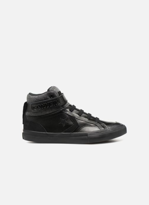 Sneakers Converse Pro Blaze Strap Hi Fall Mash-Up Zwart achterkant