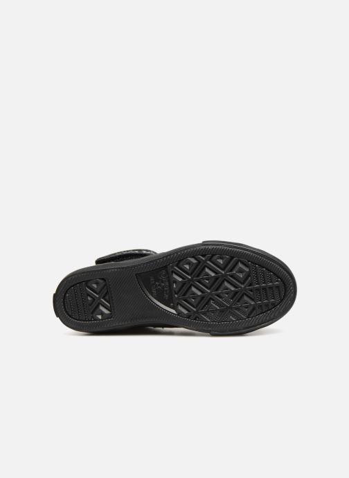 Sneakers Converse Pro Blaze Strap Hi Fall Mash-Up Zwart boven