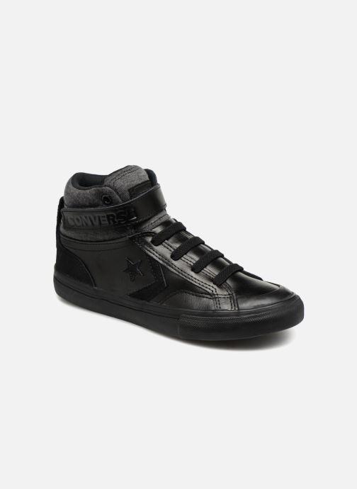 Sneakers Converse Pro Blaze Strap Hi Fall Mash-Up Zwart detail