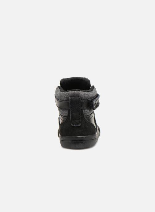 Sneaker Converse Pro Blaze Strap Hi Fall Mash-Up - Infant schwarz ansicht von rechts
