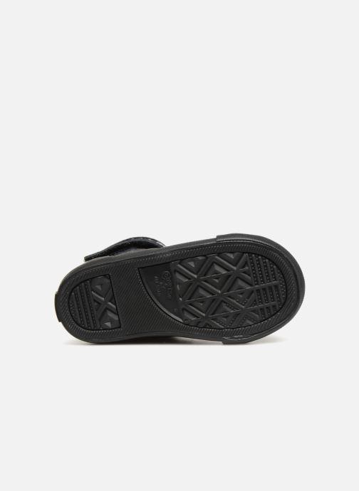 Sneaker Converse Pro Blaze Strap Hi Fall Mash-Up - Infant schwarz ansicht von oben