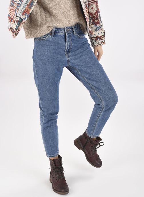 Stiefeletten & Boots Mustang shoes Lola weinrot ansicht von unten / tasche getragen